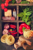 Food ingredients. Royalty Free Stock Images