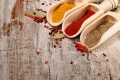 Food ingredients Royalty Free Stock Images