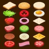 Food ingredients Series Royalty Free Stock Photos