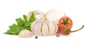 Food ingredients and spices Stock Photos