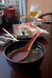 Food at japaneese restaurant Stock Image