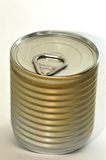 Food jar. The image depicts a can or jar of food with pull-tab, the subject Stock Photos
