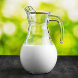 Jug of milk Stock Photo