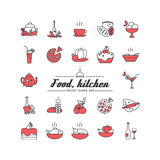 Food. Kitchen. Royalty Free Stock Images