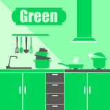 Food kitchen silhouette cooking kitchenware preparation equipment Royalty Free Stock Images