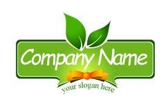 Food Label Logo Stock Image