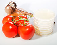 Food Law Royalty Free Stock Images