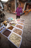 Food on Lijiang Dayan Old town . Stock Image