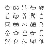Food Line Vector Icons 20. Stay healthy, so don`t forget your nutritious food! Just make your designs delicious with this Food Line Vector Icons Set Vector Illustration