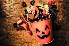 Food for the little Halloween spooks Stock Photo
