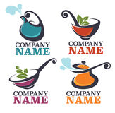 Food logo Royalty Free Stock Images