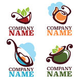 Food logo Stock Photography