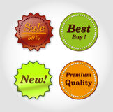 Food logos Royalty Free Stock Images