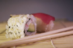 Food: Maki & sushi Royalty Free Stock Image