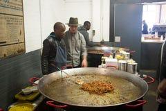 Food market in Arts on Main, Maboneng Royalty Free Stock Photos