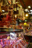 Food Market in Barcelona. Stock Photos
