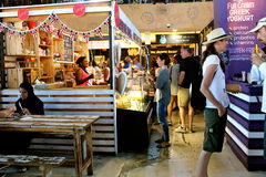 Food market. Cape town south africa royalty free stock photo