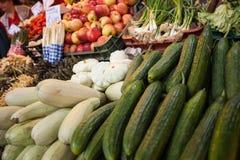 Food market closeup Stock Photo