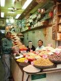 Food Market in Delhi, India Royalty Free Stock Photo