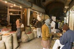 Food Market in Delhi, India Stock Photos