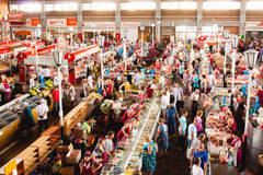 Food Market In Gomel. This Is An Example Of Existing Food Market Royalty Free Stock Image