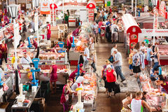 Food Market In Gomel. This Is An Example Of Existing Food Market Stock Photo