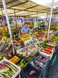 Food Market In Rome, Italy Royalty Free Stock Photography