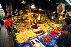 Food market in Istanbul Stock Photography