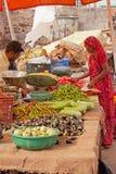 Food Market in Jaipur, Rajasthan Stock Photos