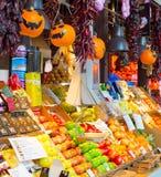 Food market San Miguel, Madrid Royalty Free Stock Photos