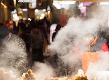 Food market in Seoul , South korea Stock Photography