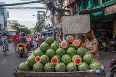 Food Market, Vietnam Stock Images
