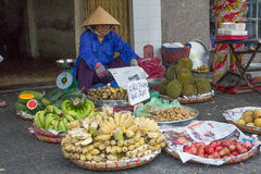 Food Market, Vietnam Stock Image