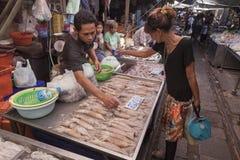 Food markets in Bangkok Royalty Free Stock Photo