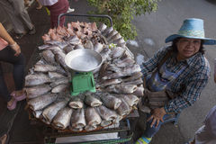 Food markets in Bangkok Stock Image