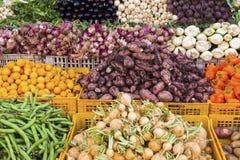 Food markt in Laayoune. Laayoune, Western Sahara, Morocco stock image