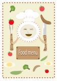 Food menu Royalty Free Stock Photos