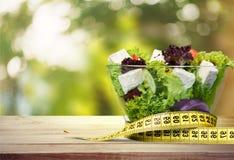 Food, menu, concept. Food menu concept salad greek tape olives Royalty Free Stock Photos