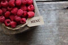 Food Menu Stock Image