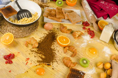 Food mess Royalty Free Stock Photography