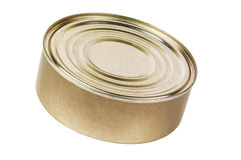 Food in metallic tin Stock Images