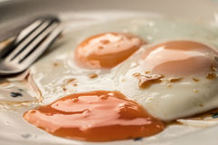 Food in the morning. Royalty Free Stock Photography