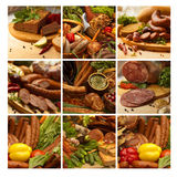Food mosaic Royalty Free Stock Images