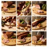 Food mosaic Royalty Free Stock Image
