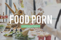 Food Nourishment Pastry Snack Bar Eat Concept Royalty Free Stock Photo