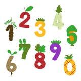 Food number vector design royalty free illustration