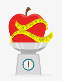 Food and nutrition. Graphic design, vector illustration eps10 Royalty Free Stock Photo