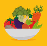 Food and nutrition Royalty Free Stock Images