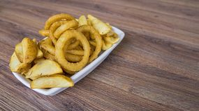 Food, Onion, Rings Royalty Free Stock Photography
