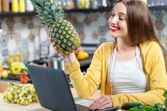 Food online ordering Royalty Free Stock Image